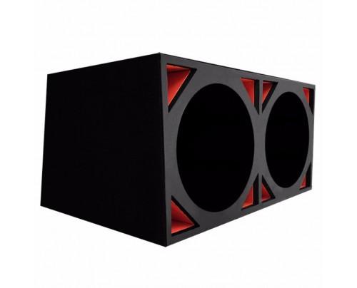 Caixa Full Trap para 2 alto-falantes de 12 Pol.