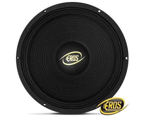 Woofer Eros E-12 450 LC Black 12 Polegadas - 450 Watts RMS