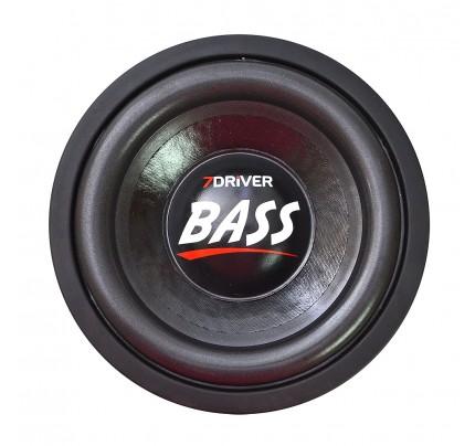Alto Falante Subwoofer 7 Driver Bass 600 rms 8 Polegadas