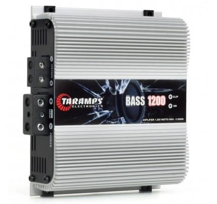 Módulo Amplificador Digital Taramps Bass 1200 - 1 Canal - 1200 Watts RMS - 2 Ohms