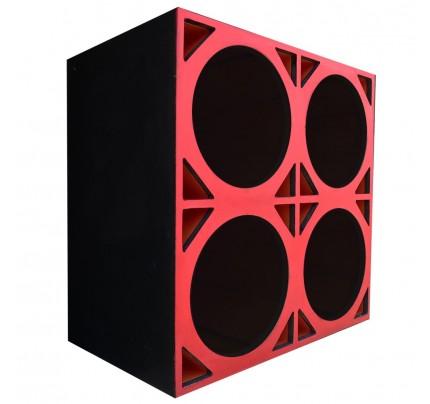Caixa Full Trap para 4 alto-falantes de 12 Pol.