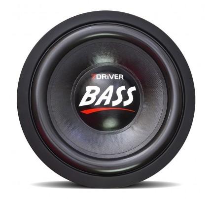 Alto Falante Subwoofer 7Driver Bass 1k2 600 rms 10 Polegadas 2 + 2 Ohms