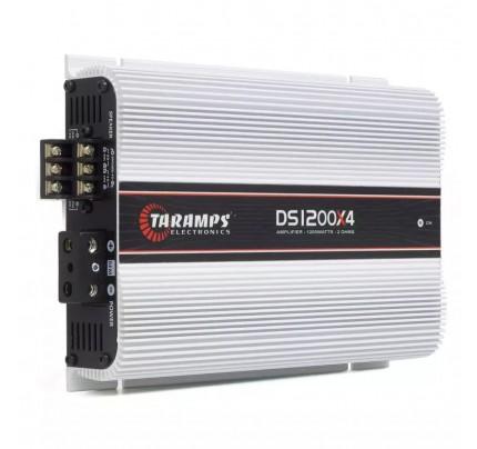 Módulo Amplificador Taramps DS 1200x4 Canais - 1200 Watts RMS - 2 Ohms