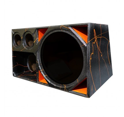 Caixa Full Trap PREMIUM 4 VIAS 15 POL. + Médio 8 + DRIVER + ST