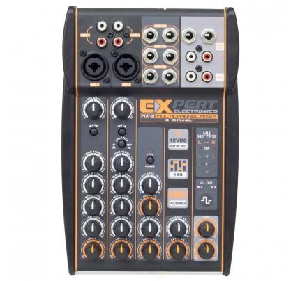 Mesa de Som Automotivo Expert Electronics MX-2 - 8 Canais - 2 Vias