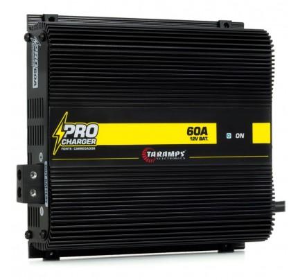 Fonte Carregador Digital Taramps Pro Charger 60A 14.4V - Bivolt